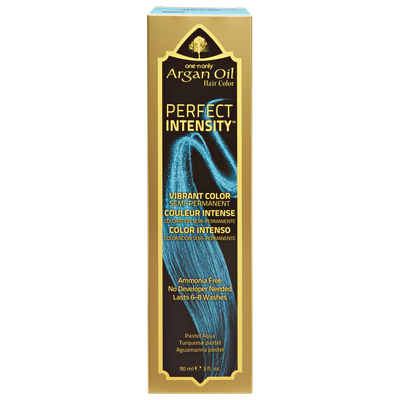 One 'n Only Argan Oil Hair Color Perfect Intensity Pastel Aqua