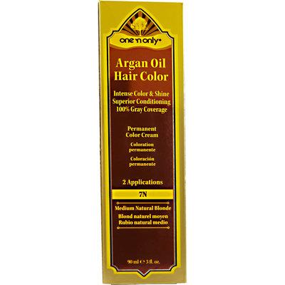 One 'N Only Argan Oil Hair Color 7N Medium Natural Blonde