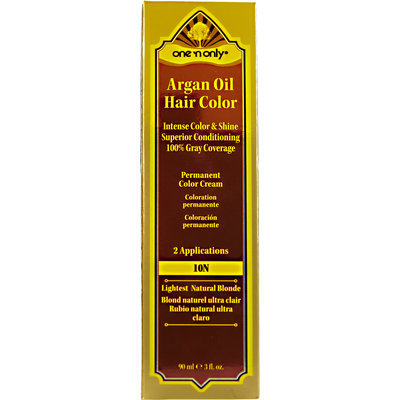 One 'N Only Argan Oil Hair Color 10N Lightest Natural Blonde