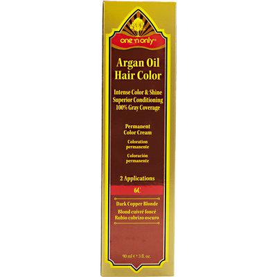 One 'N Only Argan Oil Hair Color 6C Dark Copper Blonde