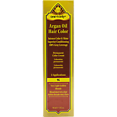 One 'N Only Argan Oil Hair Color 9G Very Light Golden Blonde