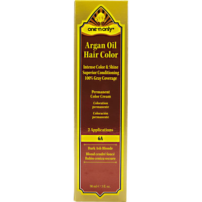 One 'N Only Argan Oil Hair Color 6A Dark Ash Blonde