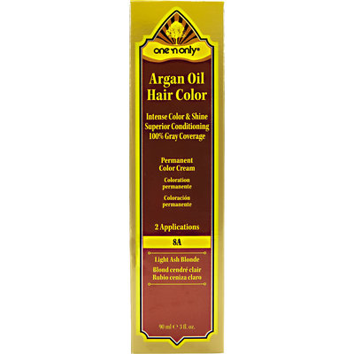 One 'N Only Argan Oil Hair Color 8A Light Ash Blonde