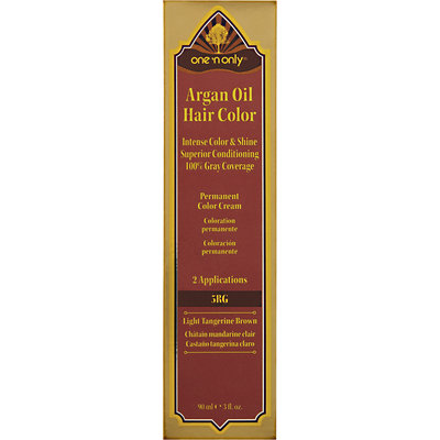 One 'n Only Argan Oil Hair Color 5RG Light Tangerine Brown
