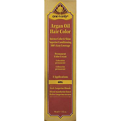 One 'n Only Argan Oil Hair Color 6RG Dark Tangerine Blonde