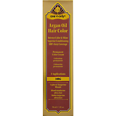 One 'n Only Argan Oil Hair Color 10RG Lightest Tangerine Blonde
