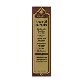 One 'n Only Argan Oil Hair Color Demi-Permanent Glossing Cream #5N Light Natural Brown
