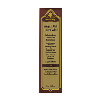 One 'n Only Argan Oil Hair Color Demi-Permanent Glossing Cream#5G Light Golden Brown