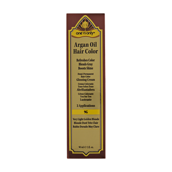 One 'n Only Argan Oil Hair Color Demi-Permanent Glossing Cream #9G Very Light Golden Blonde