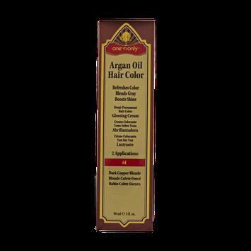 One 'n Only Argan Oil Hair Color Demi-Permanent Glossing Cream #6C Dark Copper Blonde