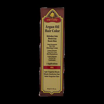 One 'n Only Argan Oil Hair Color Demi-Permanent Glossing Cream #8RG Light Tangerine Blonde