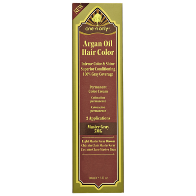 One 'n Only Argan Oil Hair Color Gray Series 5MG Light Gray Brown