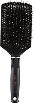 BeLissPRO Titanium Ceramic Boar/Nylon Cushion Paddle Brush