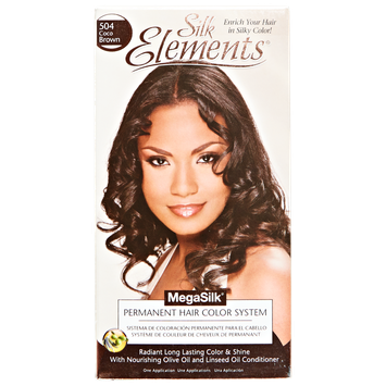 Silk Elements MegaSilk Hair Color System Coco Brown
