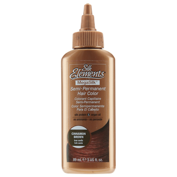 Silk Elements Semi-Permanent Hair Color Cinnamon Brown