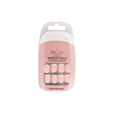 Bella Nails Bella Press-on Nails in Beige Base Small