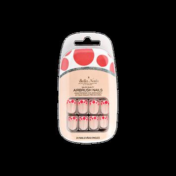 Bella Nails Bella Press-on Nails in Pink Polka Dots