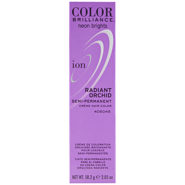 Ion Color Brilliance Brights Semi Permanent Hair Color Radiant Orchid