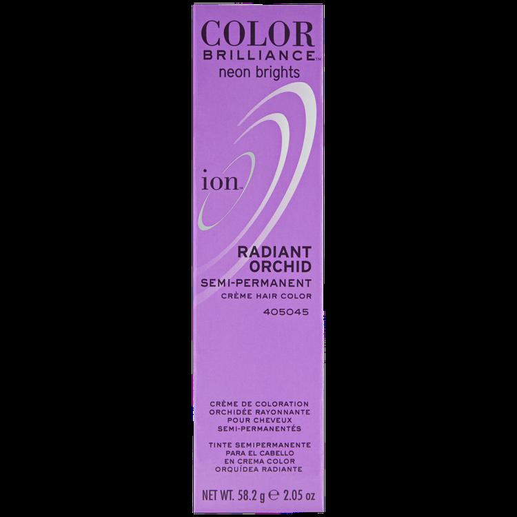 Ion Color Brilliance Semi Permanent Neon Brights Hair Color Radiant