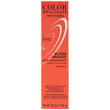 Ion Color Brilliance Semi Permanent Neon Brights Hair Color Blood Orange