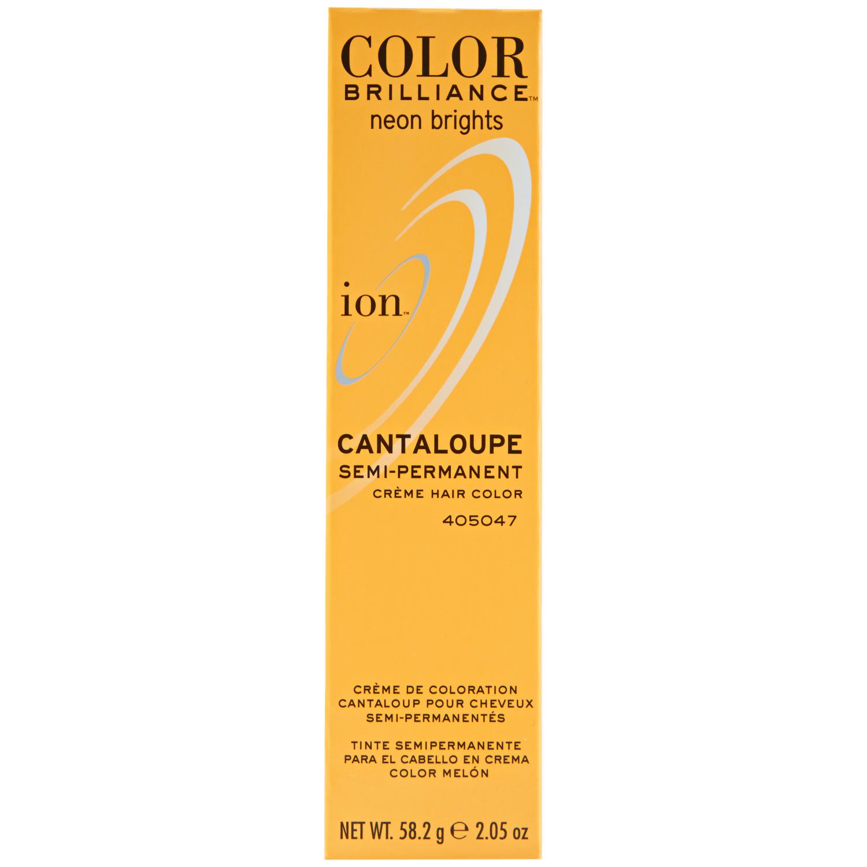 Ion Color Brilliance Semi Permanent Neon Brights Hair Color Cantaloupe