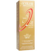 Ion Color Brilliance Permanent Creme 10 Minute Hair Color 4RV Medium Burgundy Brown