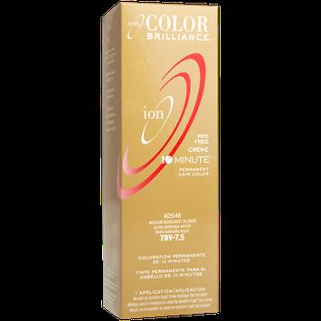Ion Color Brilliance Permanent Creme 10 Minute Hair Color 7RV Medium Burgundy Blonde