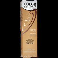 Ion Color Brilliance Ammonia Free Permanent Creme Hair Color 4NN Medium Intense Brown