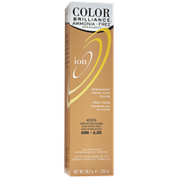Ion Color Brilliance Ammonia Free Permanent Creme Hair Color 6NN Dark Intense Blonde