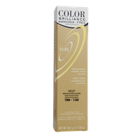 Ion Color Brilliance Ammonia Free Permanent Creme Hair Color 7NN Medium Intense Blonde