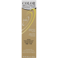 Ion Ammonia Free Hair Color 7AG Medium Ash Golden Blonde