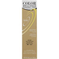 Ion Color Brilliance Ammonia Free Permanent Creme Hair Color 6G Dark Golden Blonde