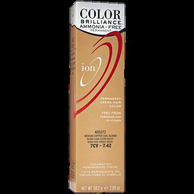 Ion Ammonia Free Hair Color 7CV Medium Copper Cool Blonde