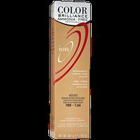 Ion Color Brilliance Ammonia Free Permanent Creme Hair Color 7RR Medium Intense Red Blonde