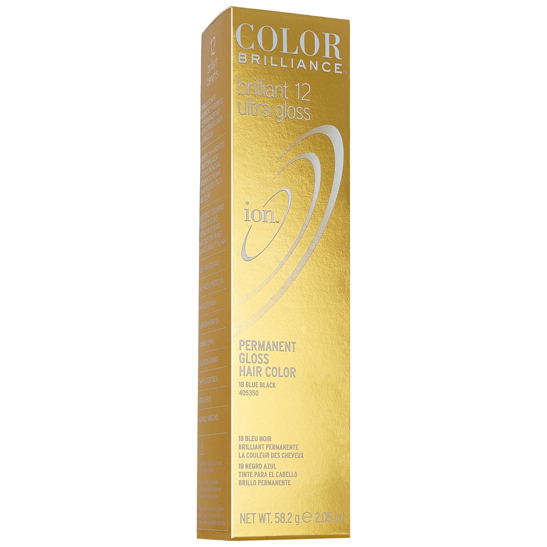 Ion Color Brilliance Brilliant 12 Ultra Gloss 1B Blue Black