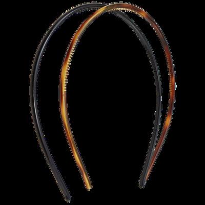 Dcnl Hair Accessories DCNL Tortoise and Black Headband 2 Piece