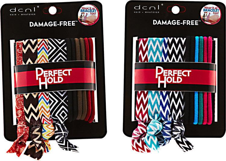 Dcnl Hair Accessories DCNL 10 Piece Striped Knotties