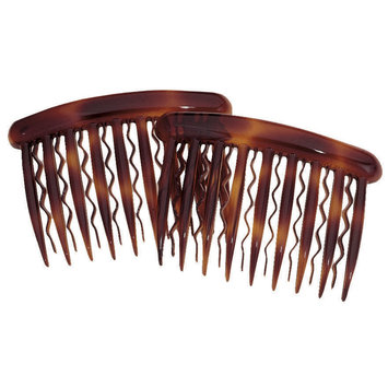 Dcnl Hair Accessories DCNL Tortoise Side Comb For Fine Hair