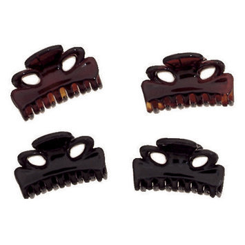 Dcnl Hair Accessories DCNL Mini Clips Tortoise and Black