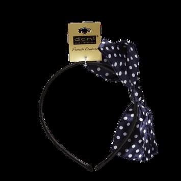 Dcnl Hair Accessories DCNL Polka Dot Bow Headband