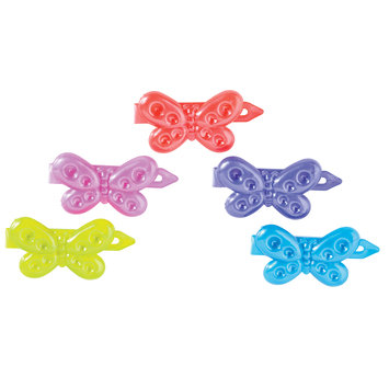 Style It Up Childrens Butterfly Barrettes