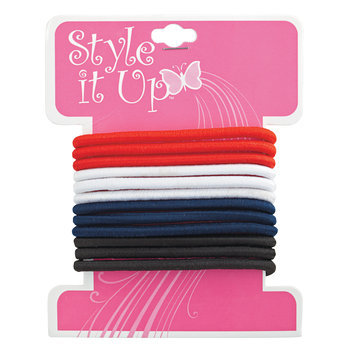 Style It Up Assorted Elastic Pony