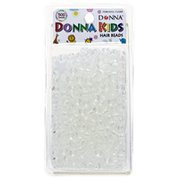 Donna Kids Clear Plastic Beads 500 Piece Pack