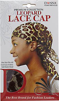 Donna Leopard Lace Cap
