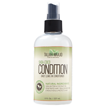 Black Earth Products Taliah Waajid Naturals Shea Coco Condition Daily Leave In Conditioner