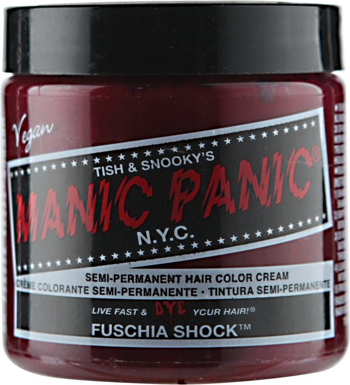 Manic Panic Semi-Permanent Color Cream Fuschia Shock
