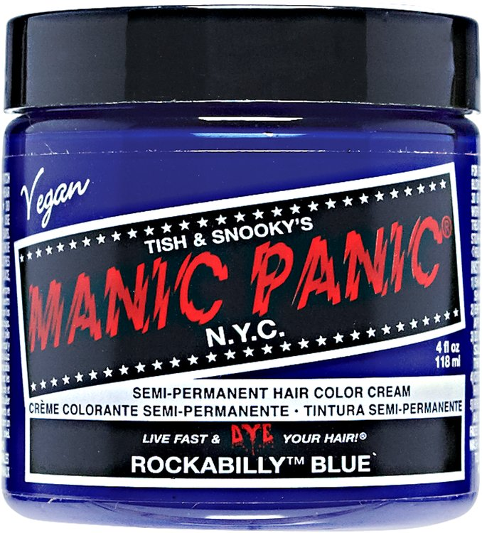 Manic Panic Semi-Permanent Color Cream Rockabilly Blue