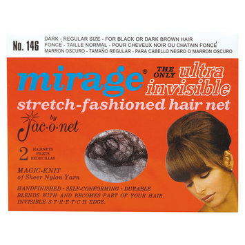 Jac-o-net Mirage Ultra Invisible Dark Hair Net