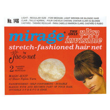 Jac-o-net Mirage Ultra Invisible Light Hair Net #146