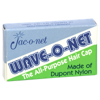 Jac-o-net Wave-O-Net All-Purpose Hair Cap Brown